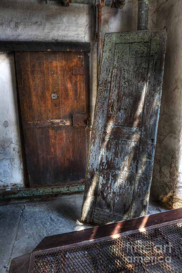 Eastern State Penitentiary Photograph - Cell Doors - Eastern State Penitentiary by Lee Dos Santos