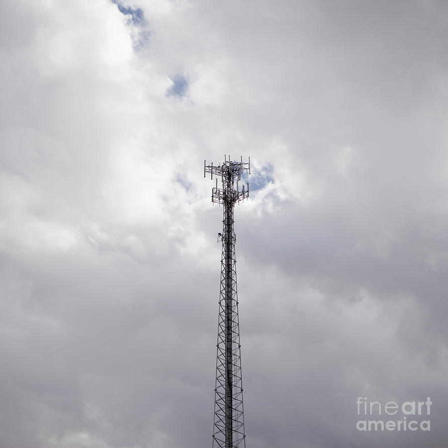 Cell Phone Photograph - Cell Phone Tower by Paul Edmondson