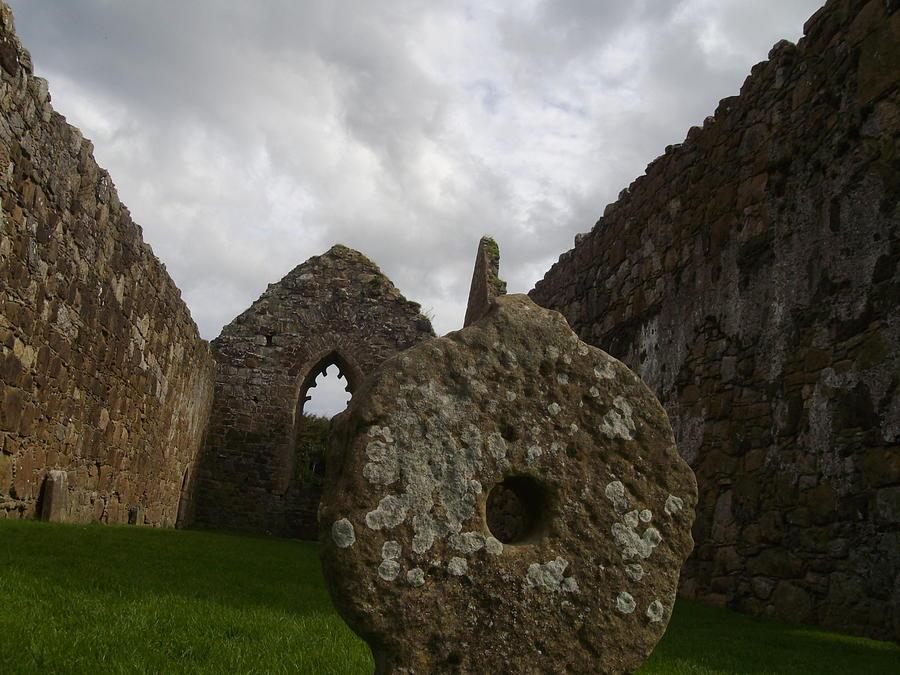 Irish Photograph - Celtic Cross by Paul Chestnutt
