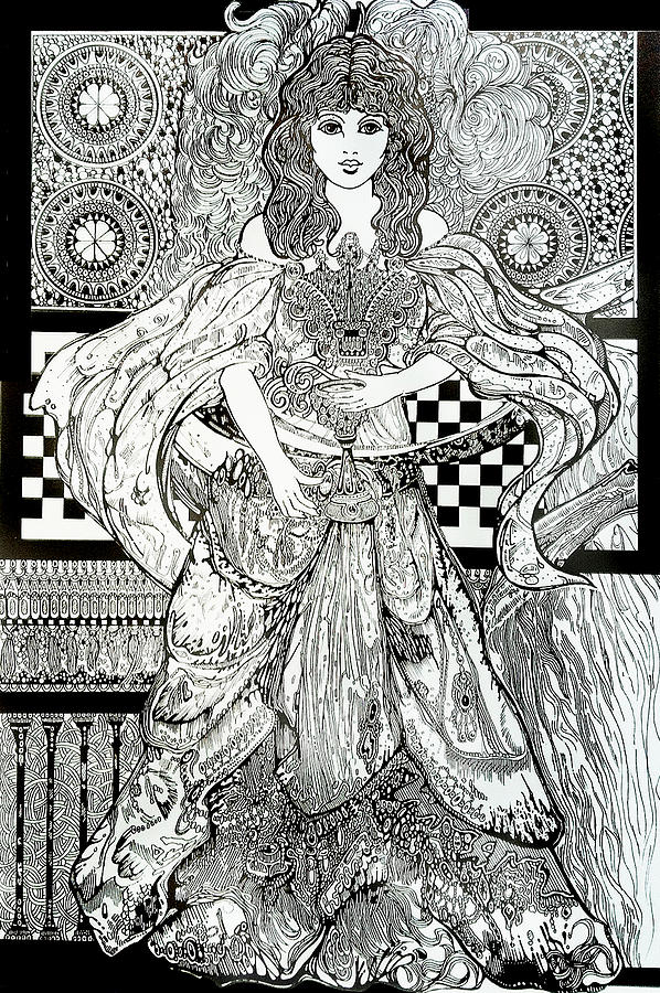 Celtic Woman Drawing By Ben Gormley