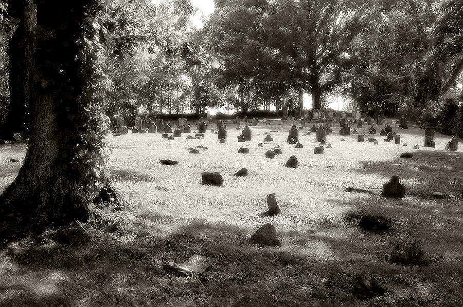 Photo Photograph - Cemetery At Mud Meeting House by Mark Jordan