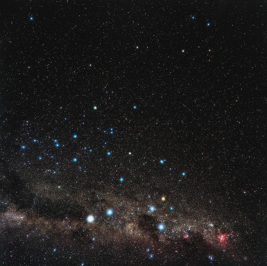 Centaurus Photograph - Centaurus Constellation by Eckhard Slawik