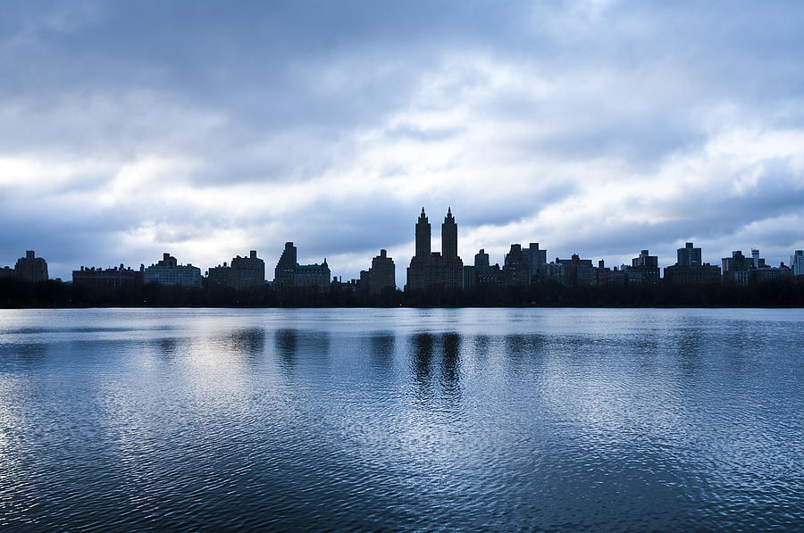 Active Photograph - Central Park Lake by Svetlana Sewell