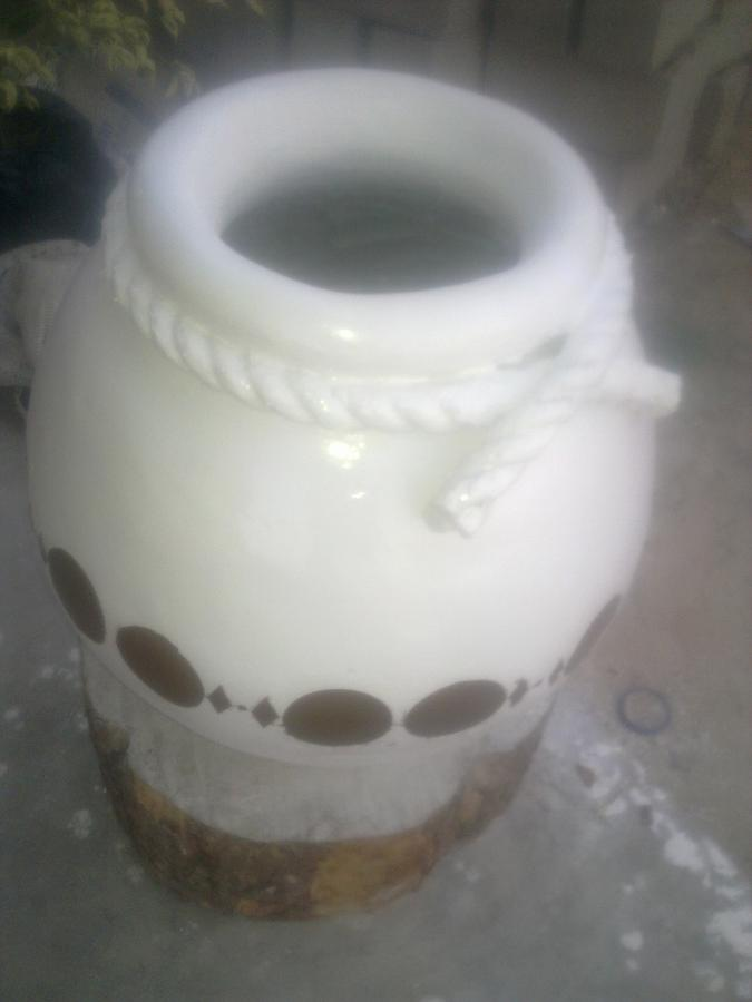 Ceramic Art - Ceramic Pot by Shadrach Muyila