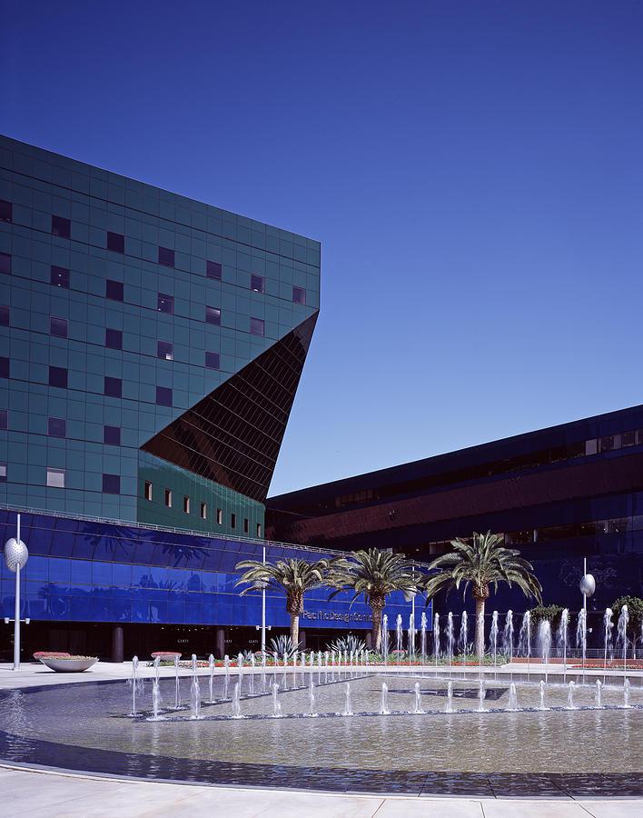2000s Photograph - Cesar Pellis Pacific Design Center by Everett