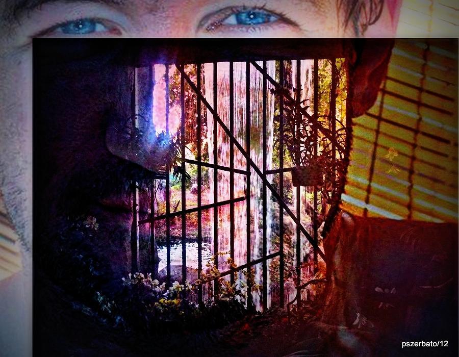 Challenge Digital Art - Challenge Enigmatic Imprison Himself by Paulo Zerbato