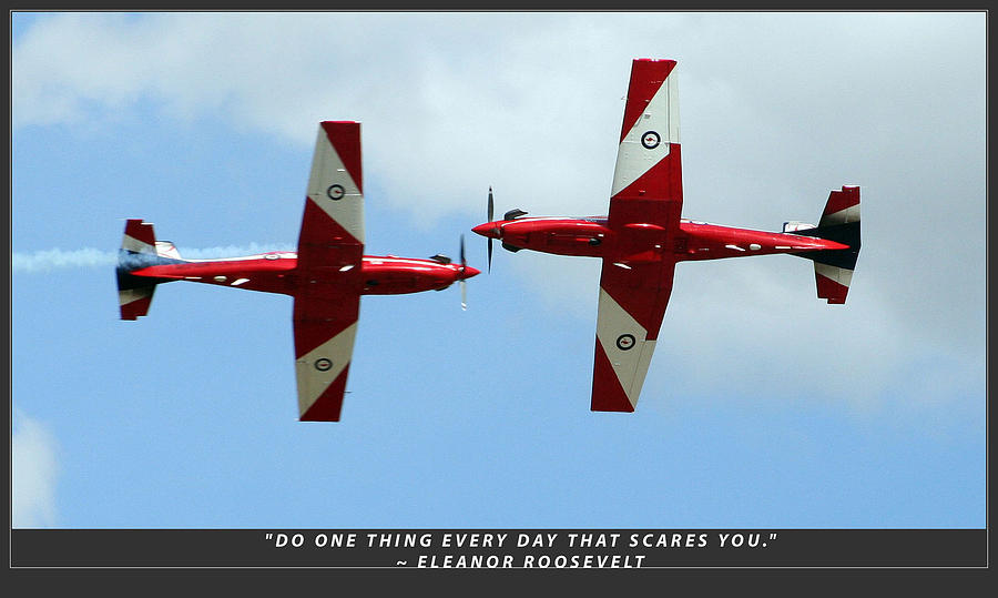Raaf Photograph - Challenge Yourself by Michael Wignall