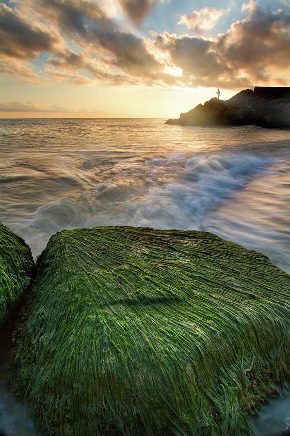 Landscape Photograph - Chaloose Sunrise by Hamid Reza Farzandian