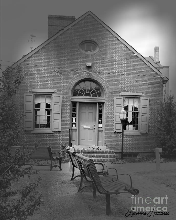 Cities Photograph - Chamber Of Commerce Elkton Md by Lorraine Louwerse