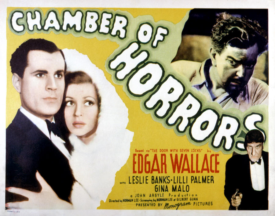 1940 Movies Photograph - Chamber Of Horrors Aka Door With Seven by Everett