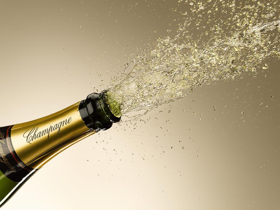 Erotic champagne exploding pics
