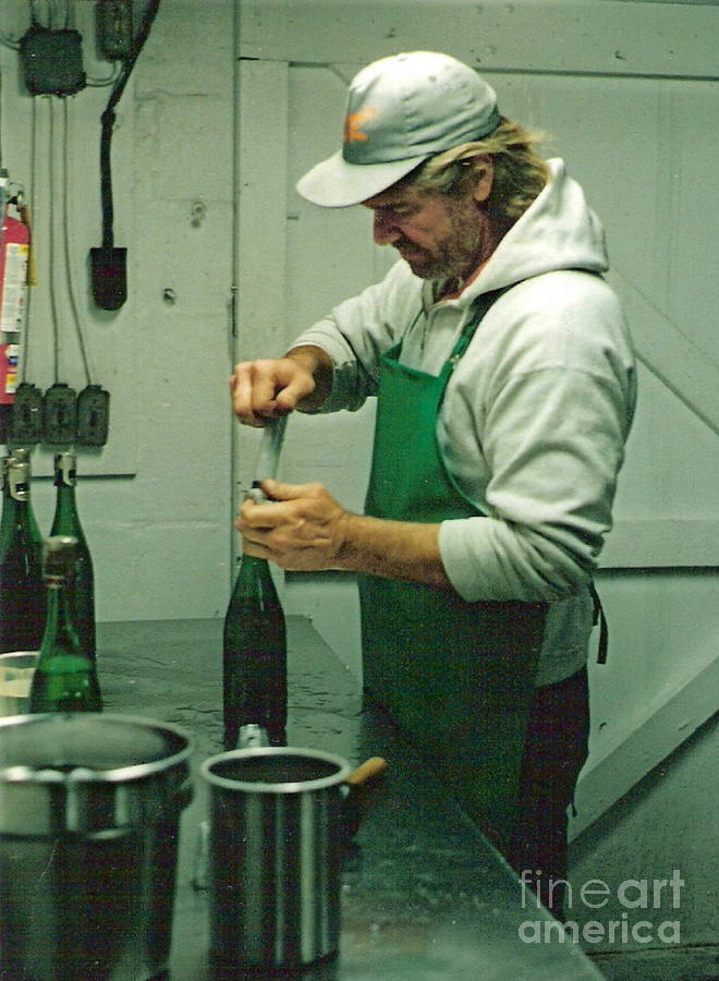 Fermentation Photograph - Champagne Methode Champenois by Padre Art
