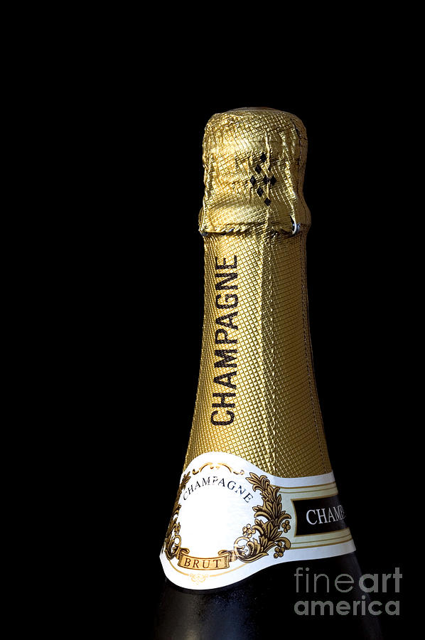 Champagne Photograph - Champagne Neck by Richard Thomas