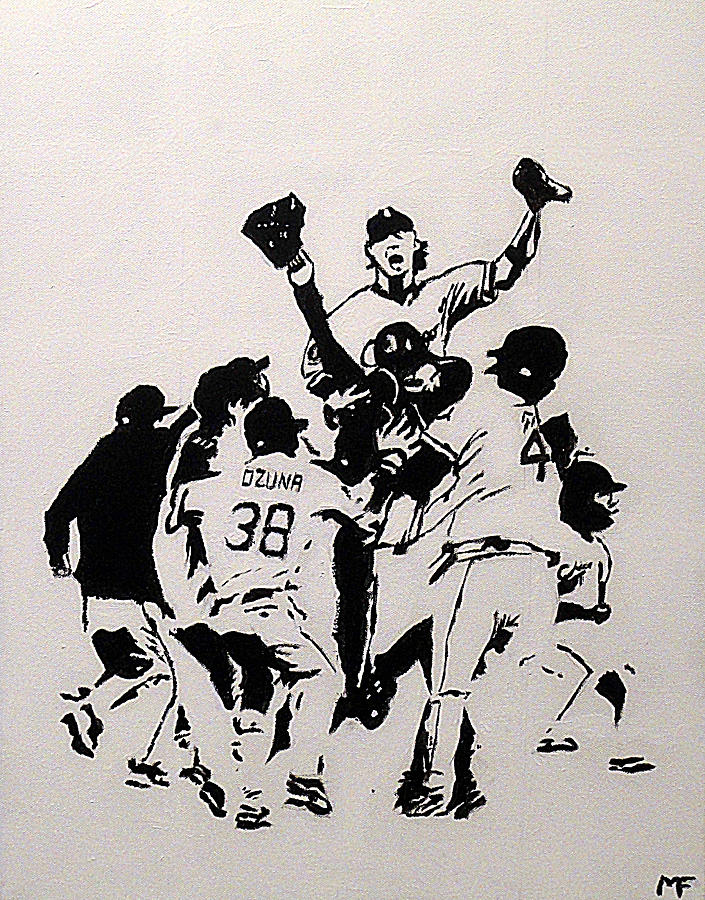 Chicago White Sox Painting - Champions by Matthew Formeller