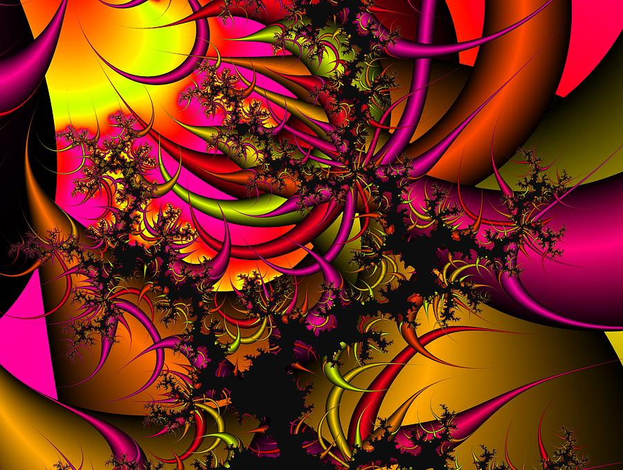 Chaos Theory Digital Art By Christy Leigh