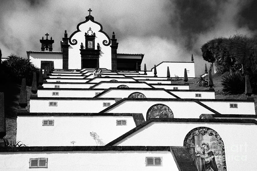 Architecture Photograph - Chapel In Azores by Gaspar Avila