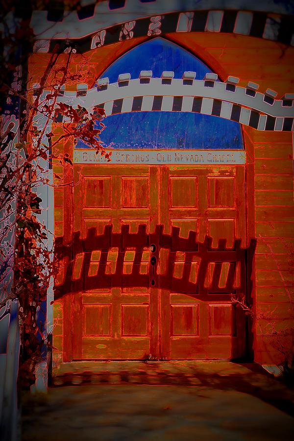Chapel Photograph - Chapel Of Love by Diane montana Jansson