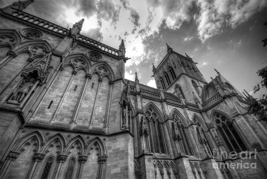 Cambridge Photograph - Chapel Of St. Johns College - Cambridge by Yhun Suarez