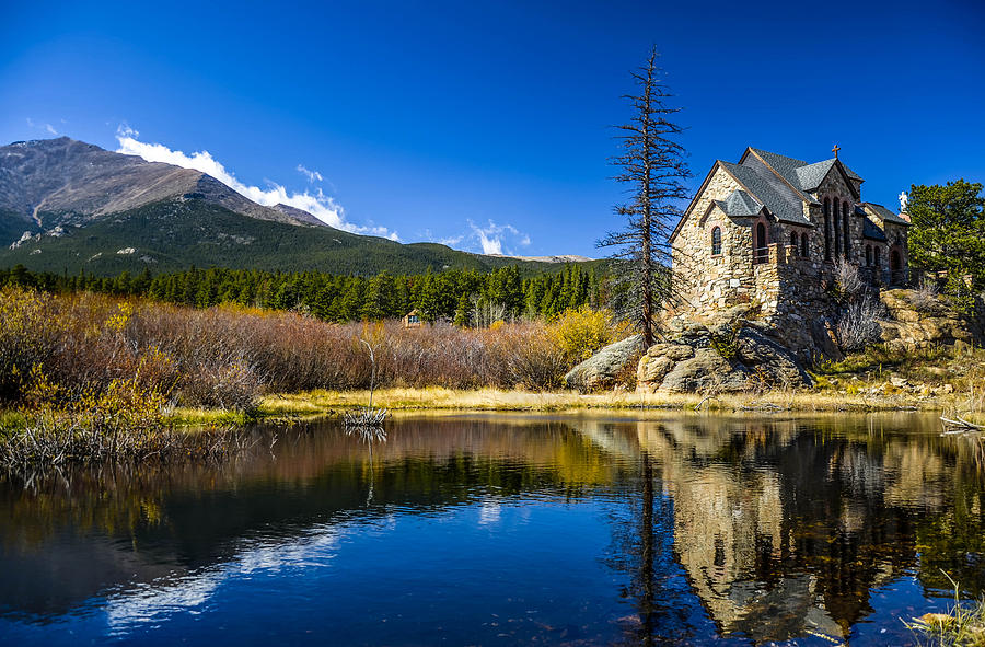 Chapel On The Rock Photograph - Chapel On The Rock by Mark Bowmer
