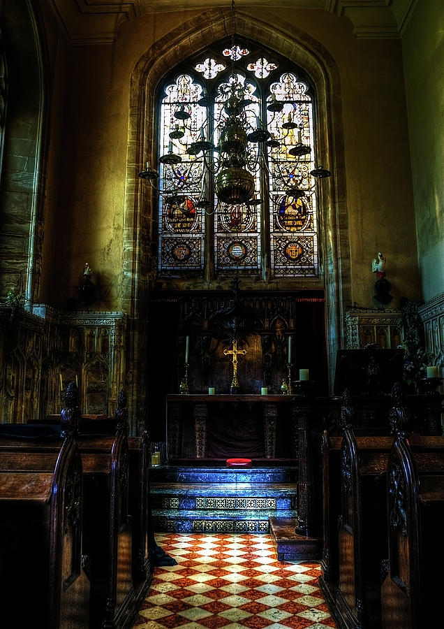 Abbey Photograph - Chapel by Svetlana Sewell