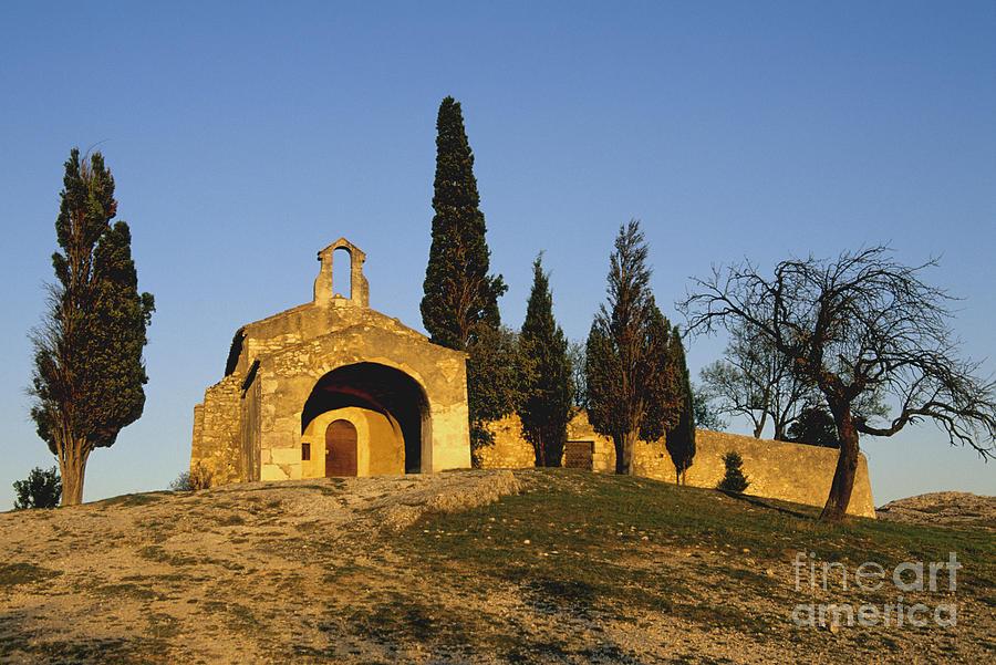 France Photograph - Chapelle Deygalieres En Provence. by Bernard Jaubert