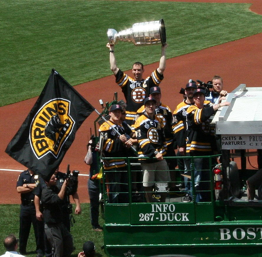 Bruins Photograph - Chara Cup by Stephen Melcher