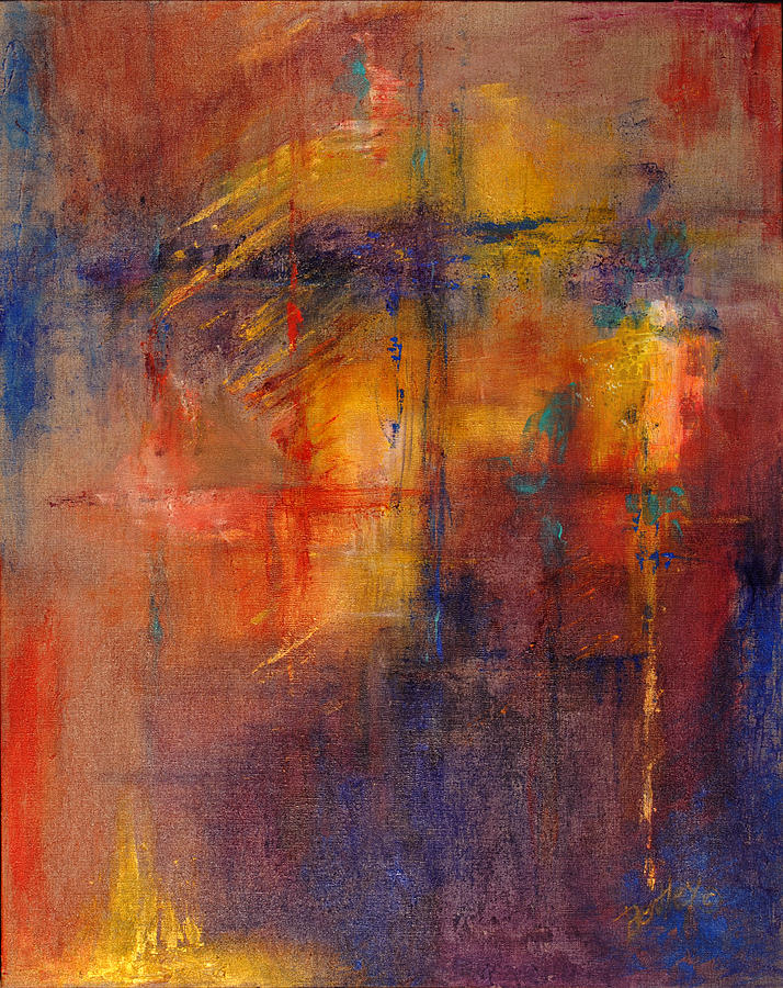 Abstract Painting - Charisma by Rita Bentley