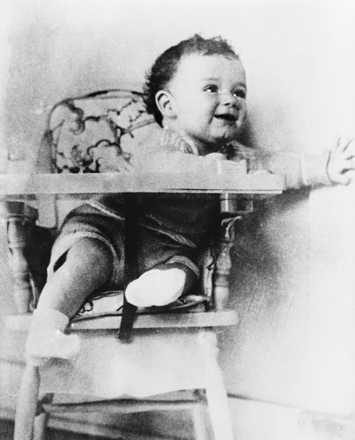 History Photograph - Charles A. Lindbergh Jr., Son by Everett
