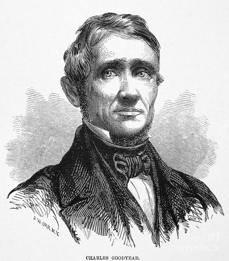 charles goodyear In 1836 charles goodyear patented vulcanized rubber prior to this, balls were  dependant on the size and shape of the pig's bladder the more irregular the.