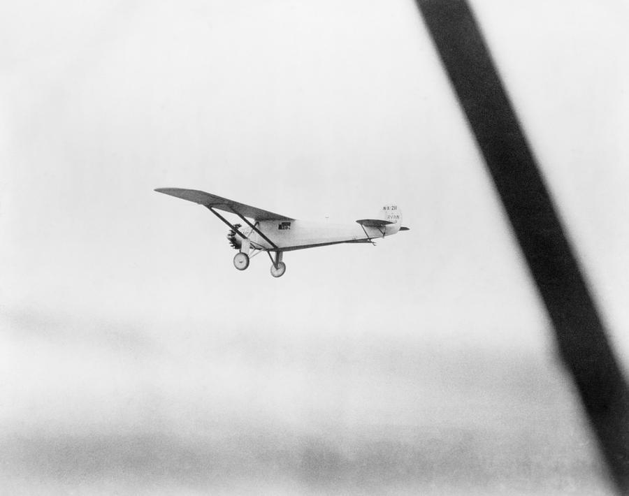 History Photograph - Charles Lindberghs Airplane, The Spirit by Everett