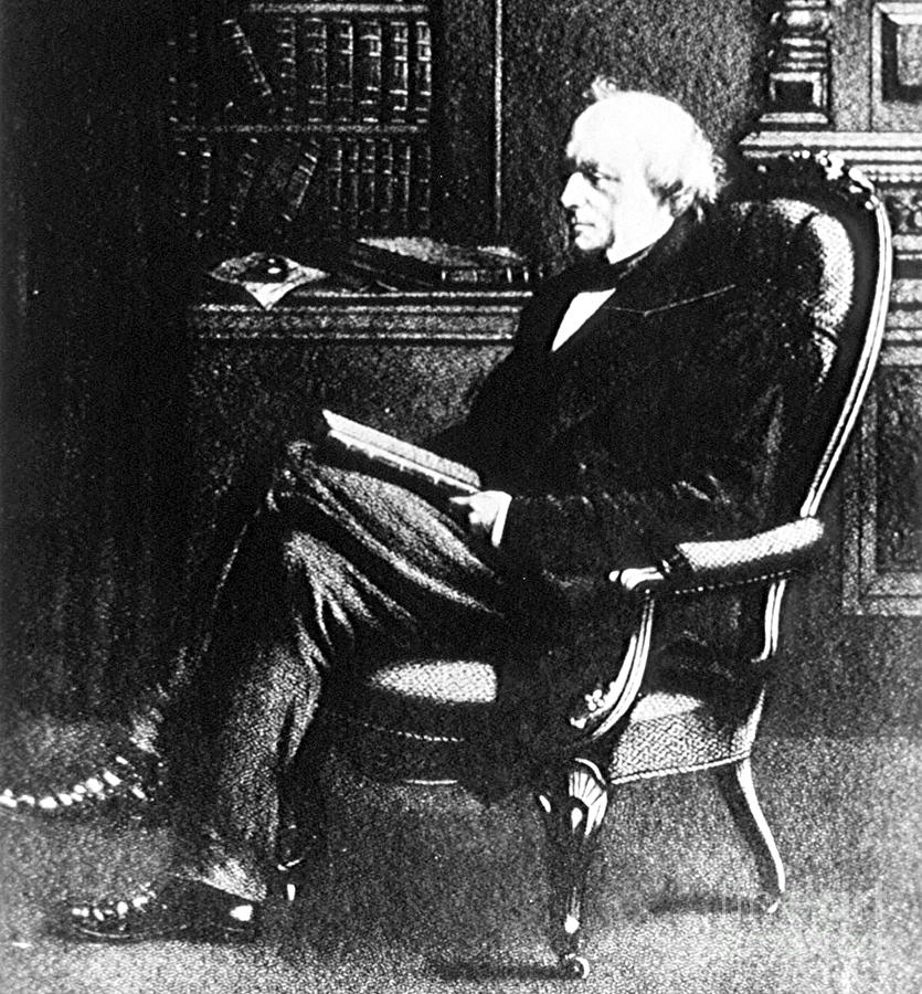 Science Photograph - Charles Lyell, English Geologist by Science Source