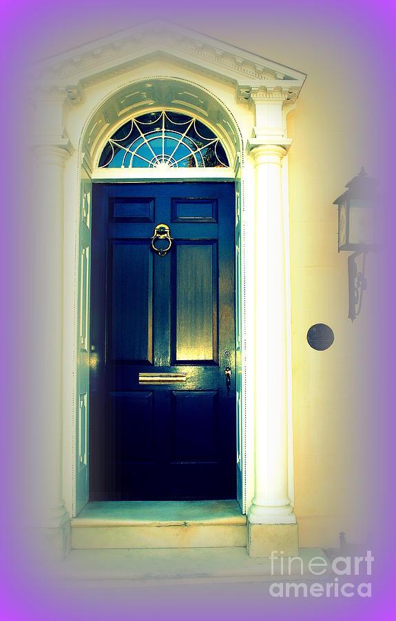 Charleston Photograph - Charleston Door 6 by Susanne Van Hulst