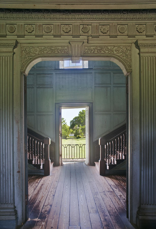 No People Photograph - Charleston Drayton Hall 18th Century by Rob Tilley