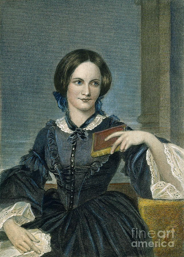 19th Century Photograph - Charlotte Bronte by Granger