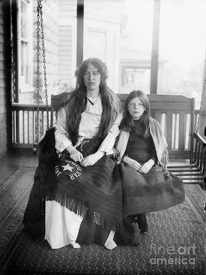 1912 Photograph - Charlotte Collyer by Granger