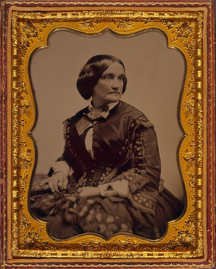 History Photograph - Charlotte Cushman 1816-1876, One by Everett