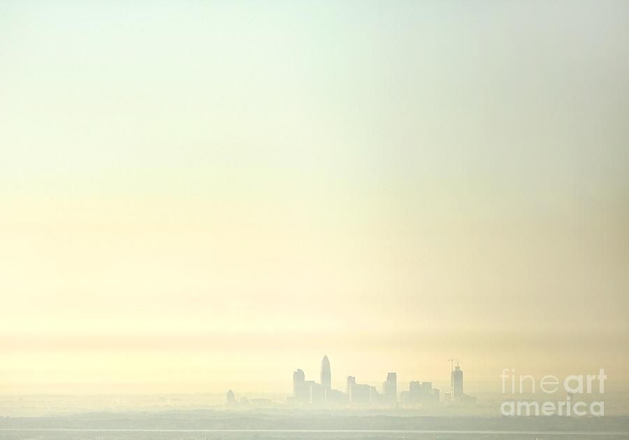 North Carolina Photograph - Charlotte Morning Mist by Patrick Schneider