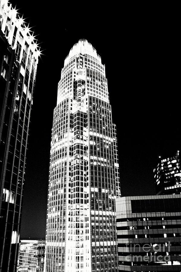 Charlotte Photograph - Charlotte North Carolina Bank Of America Building by Kim Fearheiley