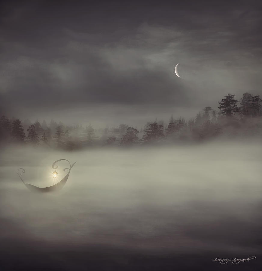 Charon Photograph - Charons Boat by Lourry Legarde