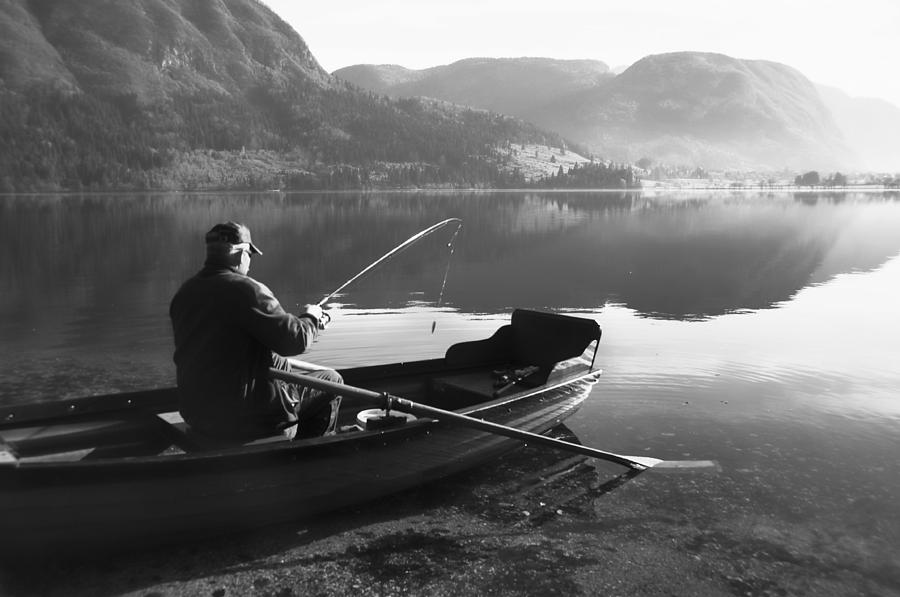 Fishing Photograph - Char....ta by Graham Hawcroft pixsellpix