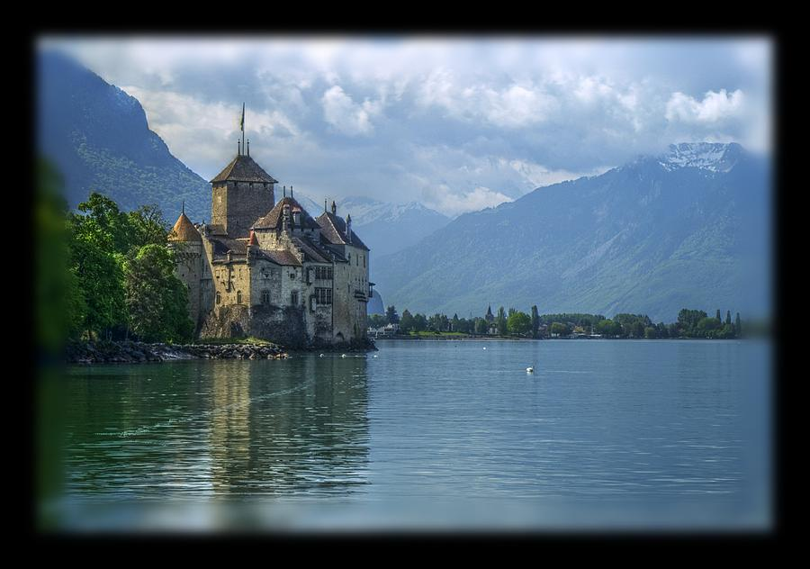 Castle Photograph - Chateau De Chillon by Matthew Green