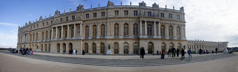 Versailles Photograph - Chateau De Versailles by Cecil Fuselier