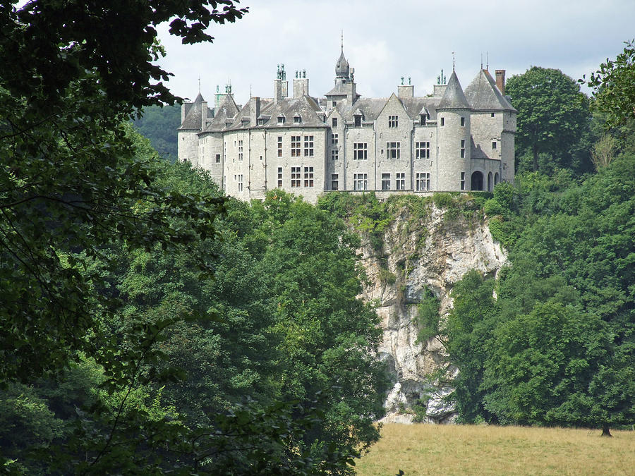 Europe Photograph - Chateau De Walzin by Joseph Hendrix