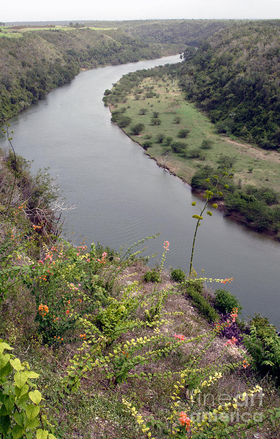 Dominican Republic Photograph - Chavon River View by Chris Hill