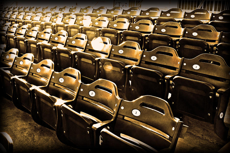 Sports Photograph - Cheap Seats by Tom Gari Gallery-Three-Photography