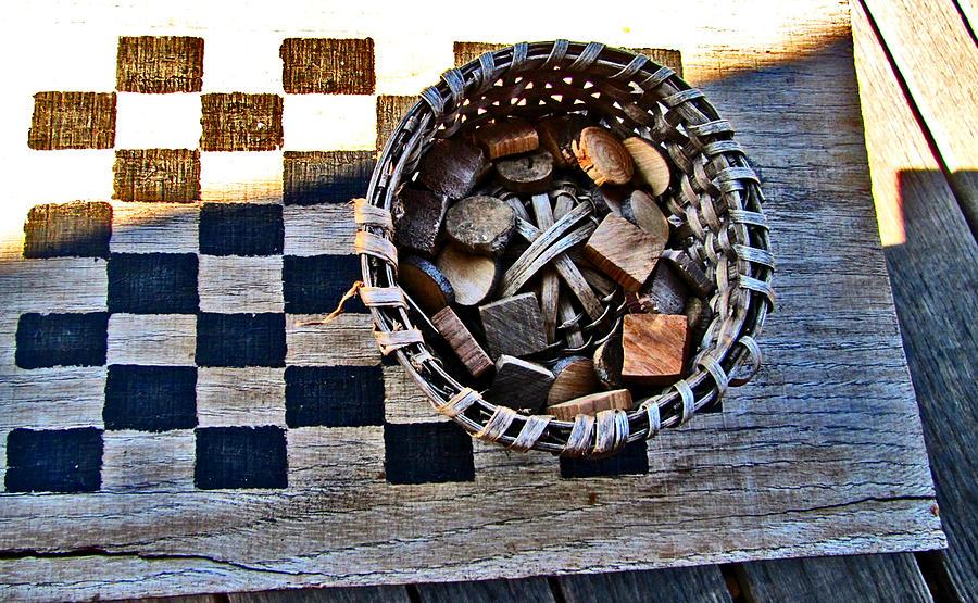 Checkers Photograph - Checkers by Elisia Cosentino
