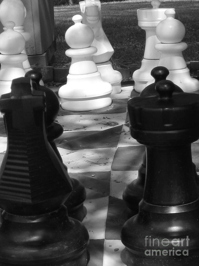 Chess Photograph - Checkmate by Jennifer Sabir
