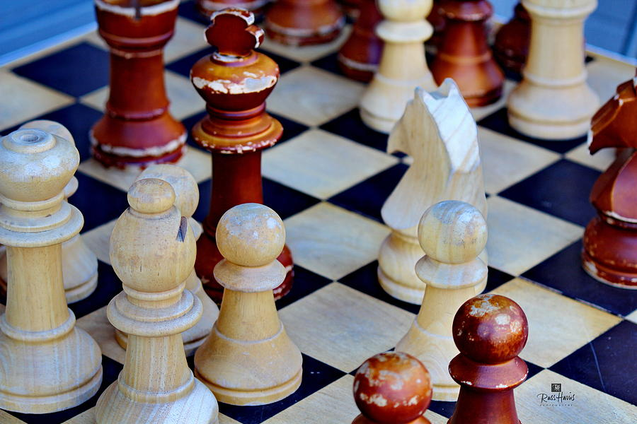 Chess Photograph - Checkmate by Russ Harris