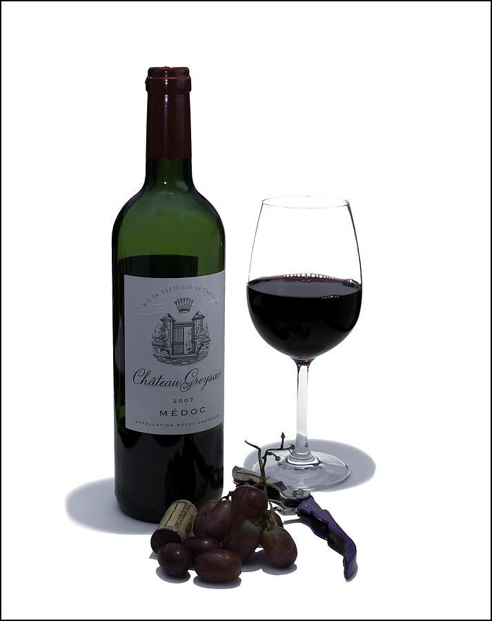 Wine Photograph - Cheers by Nigel Jones