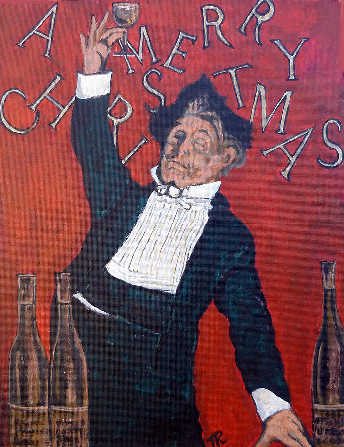 Toast Painting - Cheers by Tom Roderick